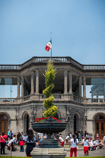 View of the Castillo de Chapultepec in Mexico City Architecture Building Exterior Built Structure Castillo Chapultepec Castle Cdmx Centro Historico Chapultepec Chapultepec Castle Independence Maximiliano De Habsburgo Mexico Mexico City Museum National Niños Heroes Paseo De La Reforma War Of Independence The Photojournalist - 2016 EyeEm Awards