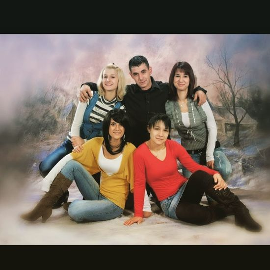 Retro Photography Brother Nurse Magic Bond Family Time Sisters Young Adult Adult People Young Men Togetherness Group Of People