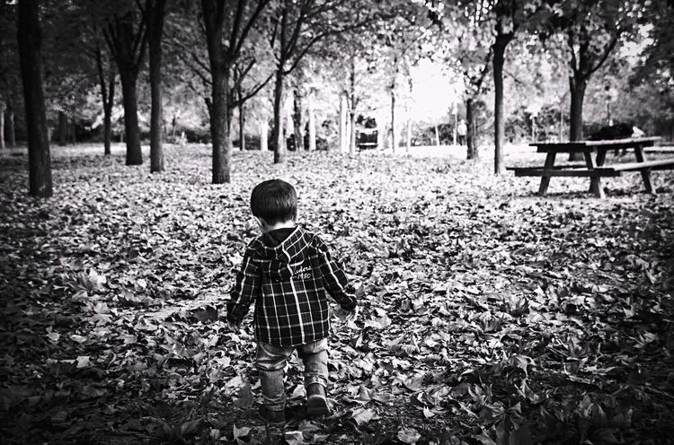 Blackandwhite EyeEm Selects EyeEm Nature Lover Photography Themes Photography Children EyeEmNewHere Day Real People Tree Outdoors Full Length Nature People