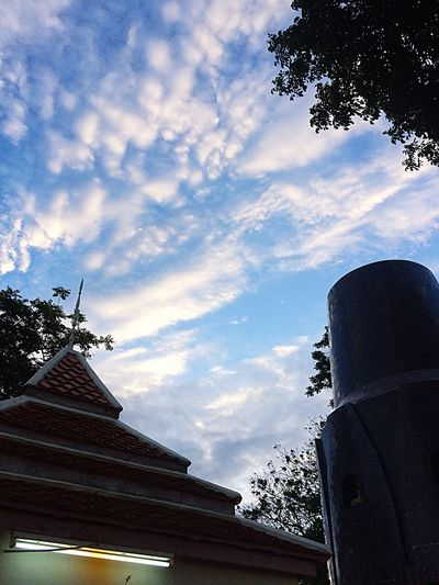 Low Angle View Architecture Built Structure Sky Cloud - Sky Building Exterior No People Day Tree Outdoors Roof