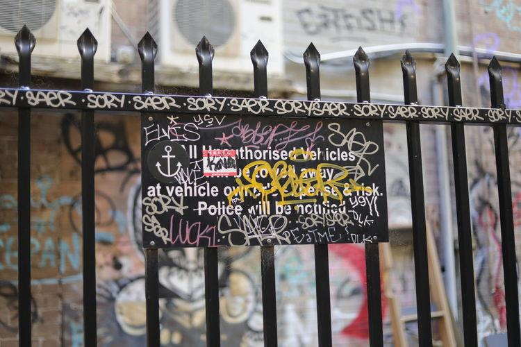 My Australia journey Day Grafffiti Art Graffiti Graffitiporn No People Street Photography Streetart/graffiti Streetphotography