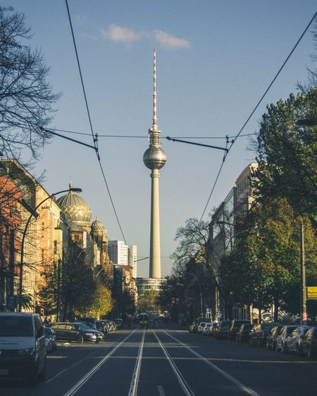 View Of Television Tower In Berlin