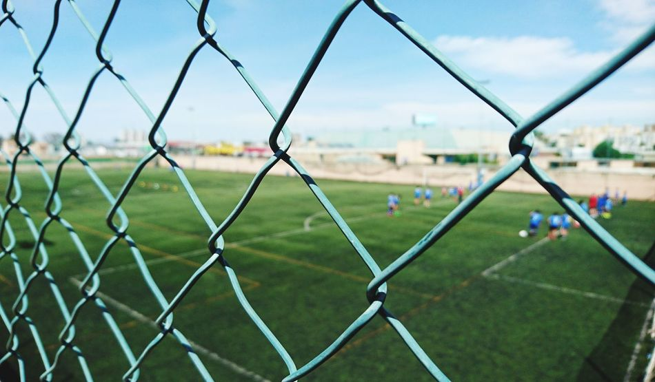 Sport Soccer Playing Field Track And Field Stadium Soccer Field Chainlink Fence Football EyeEm Gallery Photographer Photography Photooftheday Popular Photo Eye4photography  Followme Photo Popular Photos Cádiz, Spain Building Exterior