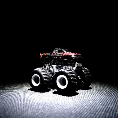 mini jam monster Toyphotography Collection Toysphotography Diecastphotography Cameraphone Diecastcollector DiecastIndonesia HotWheels Monster Trucks Black Background Studio Shot Close-up