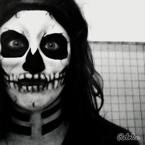 Skull Facepainting Bridecorpse Lovethiskindofthings