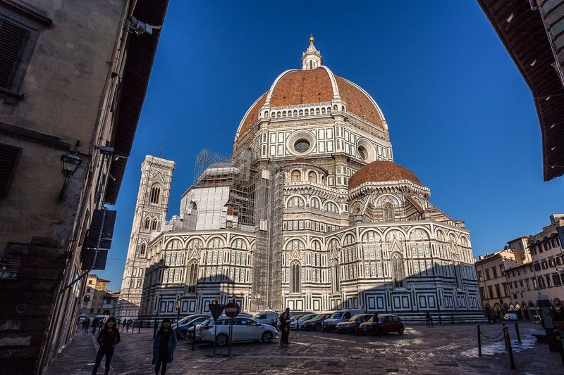 Duomo Florence Tuscanygram Built Structure Building Exterior Architecture Low Angle View Travel Destinations Dome Duomo Santa Maria Del Fiore Tuscany