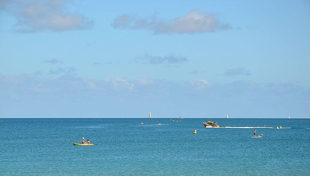 Blue Sea And Blue Sky Blue Sea Sea And Sky Beach View Blue Sea Blue Sea Sky Noumea Newcaledonia New Caledonia