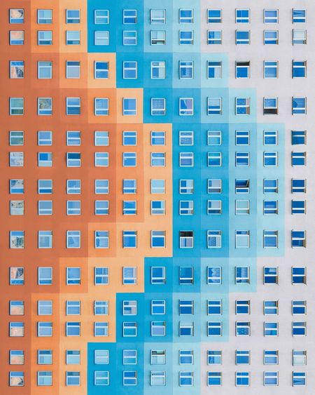 ❒🔶🔷❑︱asymmetrically pixillated Minimalist Architecture Minimal Exterior Symmetry EyeEm Best Shots EyeEmNewHere First Eyeem Photo EyeEm Selects Samsungphotography Architecture_collection City Backgrounds Blue Full Frame Window Apartment Architecture Building Exterior Built Structure Close-up Office Building Settlement Tall - High Building Story City Location Residential District Residential Structure High Rise Cityscape Housing Development