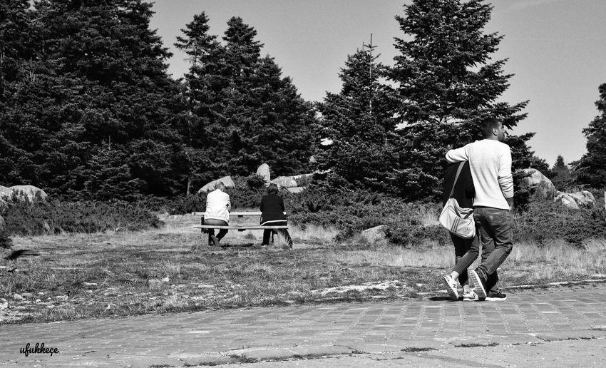 Streetphotography Photographer Forest Mountain Nikon D5200 Uludagdasonbahar Fotografasktir Fotografheryerde Myobjective Severekçekiyoruz Autumn🍁🍁🍁 Distances Mesafeler Nature Day People Lifestyles