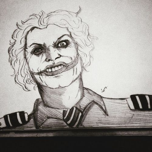 TamAirlines Joker Drawing Draw Art Aviation Hello World Drawings Face That's Me