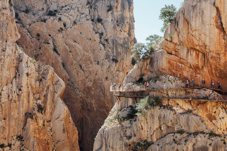 Caminito del Rey, Andalucia, Spain Adventure Andalucía Andalusia Ardales Bridge Bridge - Man Made Structure Caminito Del Rey Day Malaga Mountain View Mountains Nature Outdoors Path Railing SPAIN
