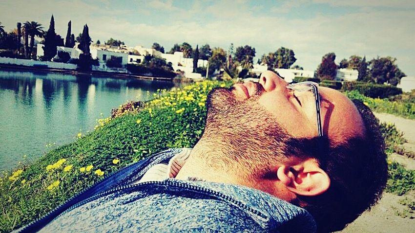 Tunis-carthage Enjoying The Sun Friends Relaxation :)