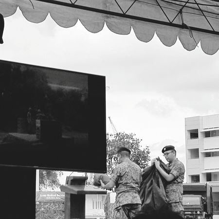 Singapore Sembawang Camp 7 Sept 2017 Graduation Parade Passing Out Parade Basic Military Training Bnwsingapore Bnwphotography Bnwstreetphotography Sg_streetphotography