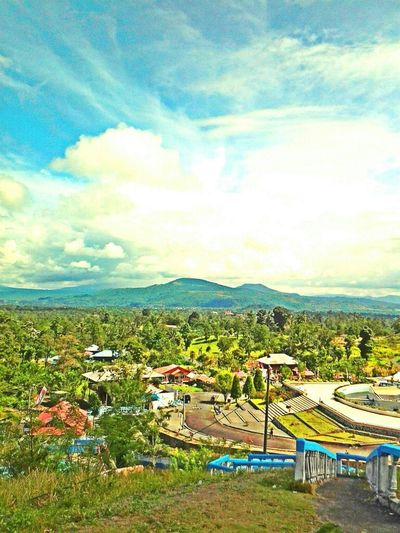 Pretty landscape, Bukit Kasih Manado Indonesia