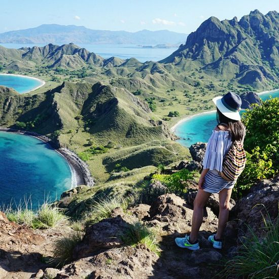 The Journey Is The Destination Forest Islandlife Padar INDONESIA Island Green Hiking Adventure