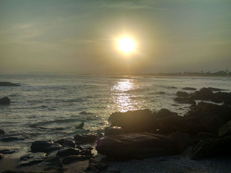 Water Low Tide Refraction Wave Sea Sunset Beach Beauty Astronomy Sand Capture Tomorrow