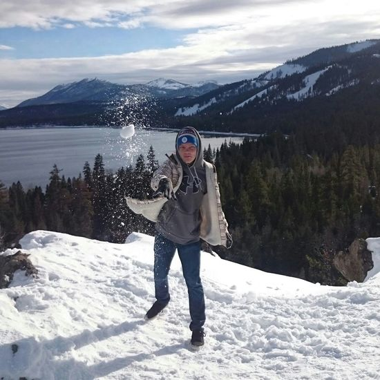 Fathers, do not provoke your childrenFatherhood Moments Snow Snowball Fight Lake Tahoe Eagle Rock Winter Lake Holiday Vacations Dad Life Snowball