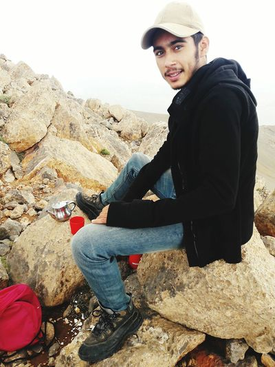A cup of tea over mount jbel bouiblane summit ... Happiness Creativity Creativity Has No Limits Climbing Mountains