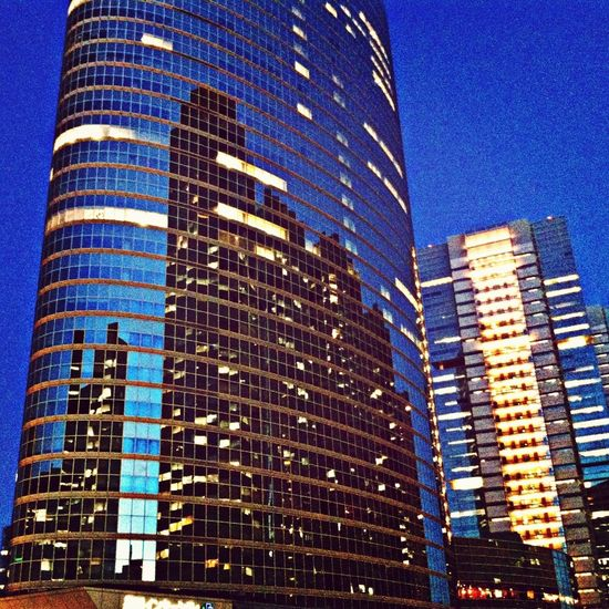 blue tokyo... Tokyo Window Reflections Reflection Skyscrapers