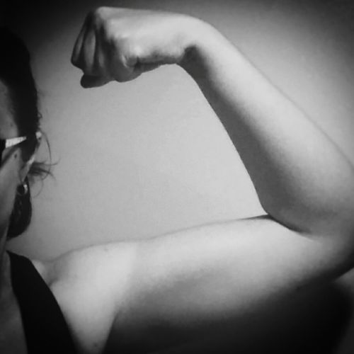 Strong First Eyeem Photo Selfdiscovery Strong Woman Strong Fitness Jurney Stronger Confidence  Body & Fitness Body And Soul Mind