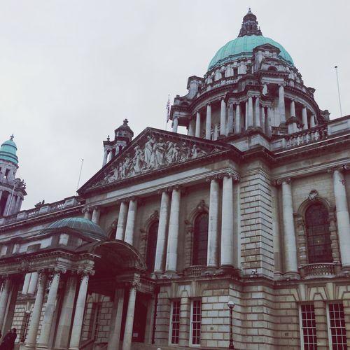 Belfast Cityhall Sky Buildings