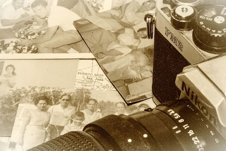 People Family My First Camera Puerto Rico Vintage Photography Life Memories. Old Time Photos Good Old Days