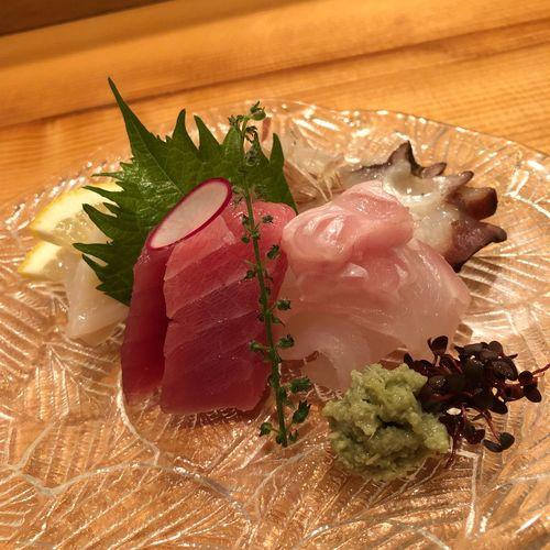 お造り 刺身の盛り合わせ 刺身 Fresh Fishes Sashimi Dish EyeEm Selects Food And Drink Food Indoors  Ready-to-eat Freshness Table