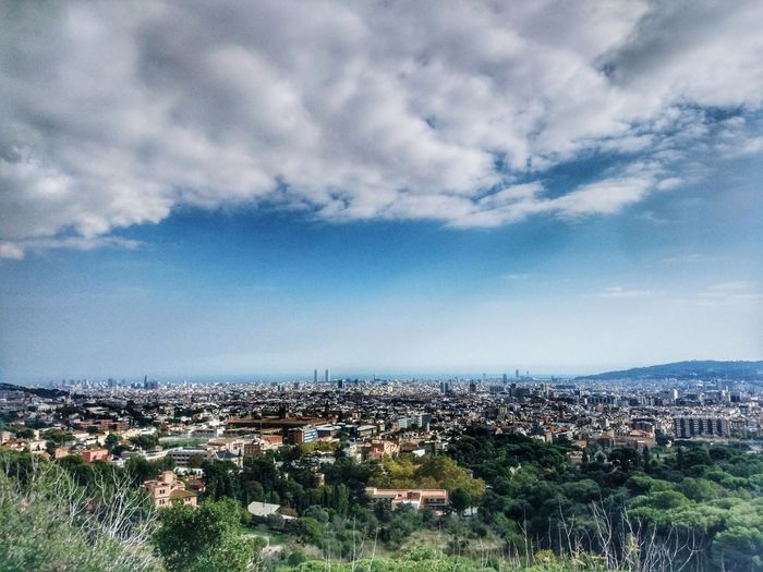 Cityscape City Aerial View Outdoors Urban Skyline Barcelona #urbanana: The Urban Playground