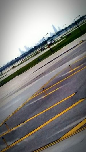 Cityscape of rainy Chicago Airport The Great Outdoors With Adobe