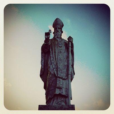 St. Patrick #statue ? #earlybirdlove #jj #jj_forum #beautiful_ireland #hill_of_tara #ireland Statue Ireland Jj  Earlybirdlove Jj_forum Hill_of_tara Beautiful_ireland