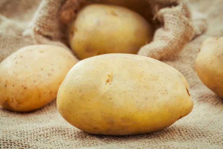 Close-Up Of Potato