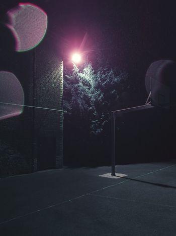 Basket nocturne - St-Luc Night Nightsky Nightphotography Vscocamedit Tree Sport Vscoedit VSCO Belgium Basket Vscocam Long Exposure Photooftheday Picoftheday Purple EyeEmNewHere