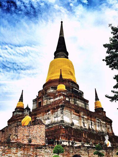 Temple Buddhist Temple Thai Temple Ayutthaya Ayutthaya   Thailand Enjoying Life Thailand