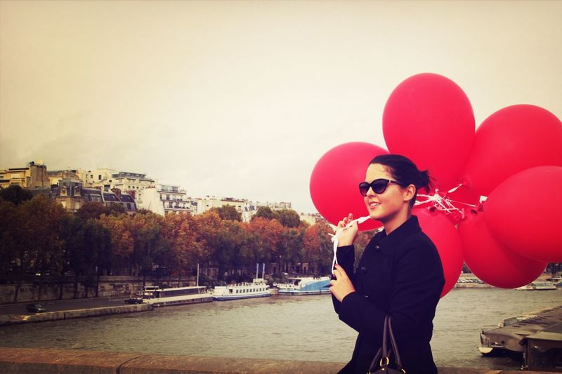 The Street Photographer - 2014 EyeEm Awards Somewhere In Paris Lady Balloons