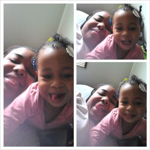 Mommie & Daughter This Mornin