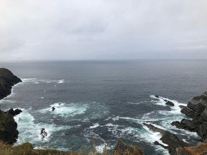 Portmagee, Cliffs Portmagee Beauty In Nature Tourist Destination Kerry Cliffs Skellig Ireland🍀 Horizon Beauty In Nature Rock Nature Rock - Object