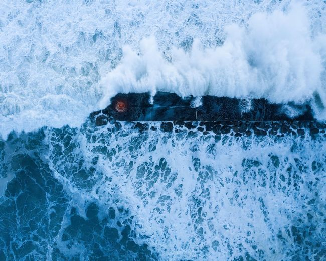 Stormy Blue Sea Drone Moments Drone Dji Drones Droneshot Dronephotography Drone  Waves Bluesea Porto Ocean Portugal Aguda Beach Winter Atlantic Ocean Blue Hour Lighthouse Storm Water Sport Motion Splashing Sea Nature Blue Outdoors Day Wave Surfing Beauty In Nature Power In Nature