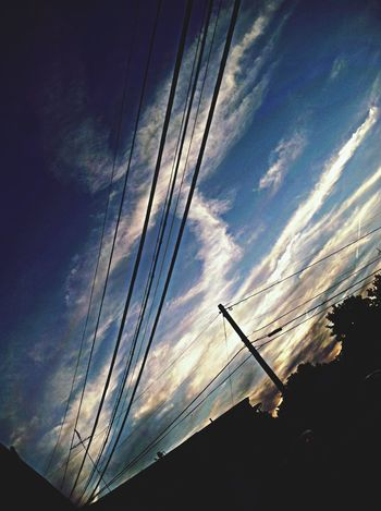 Hello World Taking Photos Clouds And Sky Sky