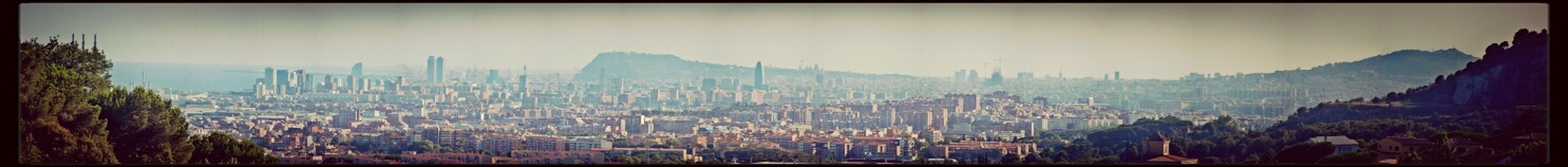 Barcelona Bcn Don't Be Square Panorama