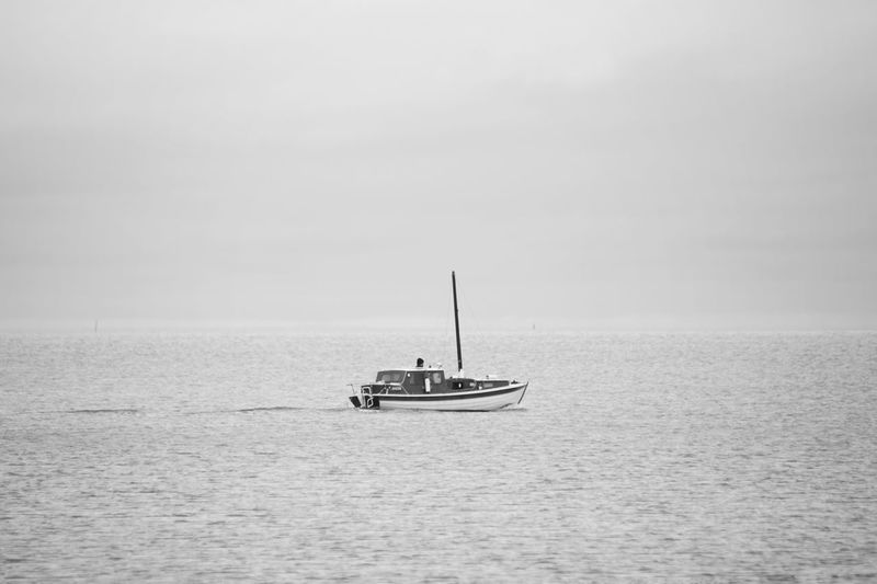 Showcase October 2017 2017 Okt Niklas Finland Helsinki, Finland The Week On EyeEm Nautical Vessel Sea Sailing Horizon Over Water Travel Tranquility Transportation Outdoors Water Sky Vacations Adventure Landscape Scenics Nature Clear Sky Day Sailboat Lost In The Landscape Black And White Friday An Eye For Travel