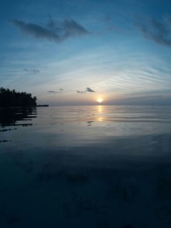 Vilamenhoo Island, Maldives Relaxing Enjoying Life Tropical Paradise Natural Beauty! Palm Trees Beautiful Surroundings Water Reflections Sunset Holiday Landscapes With WhiteWall