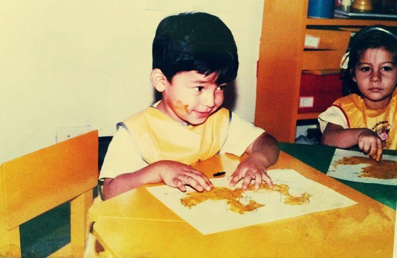 WOW.... I was cute...