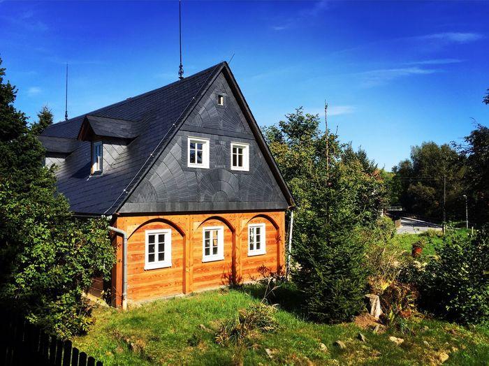 Umgebindehaus in der Oberlausitz. House Architecture No People Oberlausitz Sachsen Deutschland Dreiländereck First Eyeem Photo