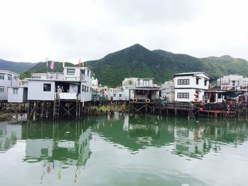 Fish Village Life Village China HongKong Tai'O Waterfront Travel Photography Outdoors Rain