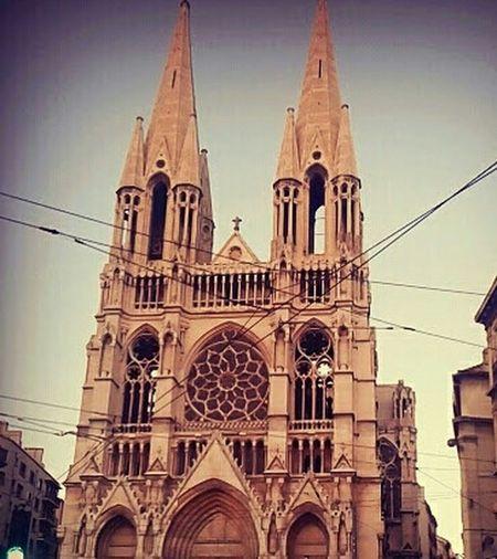 Photography Street City Architecture Marsiglia France Gothic Architecture Rosone Gothic Church Gothic Church