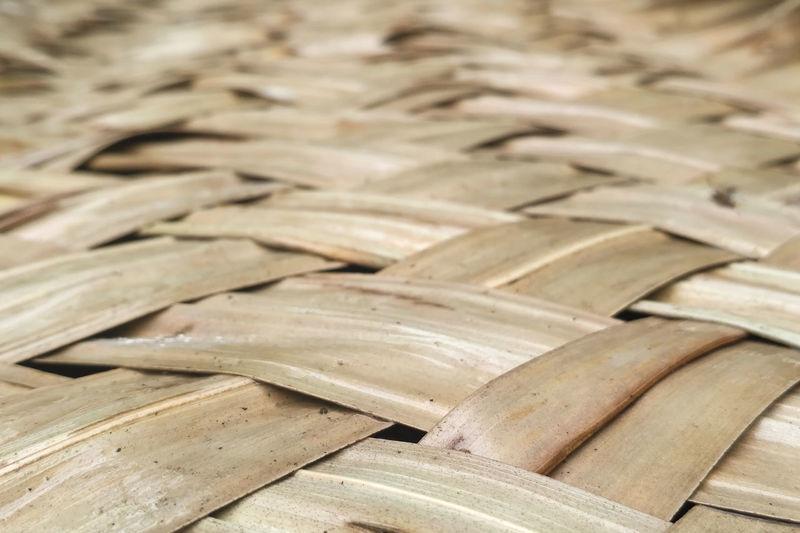 Full Frame Shot Of Dry Leaves Decoration