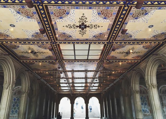 Bethesda Terrace Built Structure Travel Architecture Travel Destinations Indoors  Tourism History Day Sightseeing Architectural Column New York City Sight NYC Bethesda Fountain Bethesda Terrace Central Park Bethesda CentralPark Travel Architecture Nycphotography First Eyeem Photo Newyorkcity Travel Photography Travelphotography EyeEmNewHere