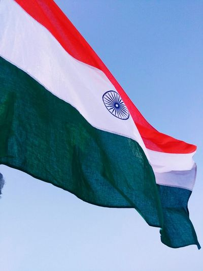Salute to you , You are the first among all. LOVE YOU INDIA ❤ Flag Patriotism National Icon Close-up Outdoors Republic Day India Republic Day 26 January