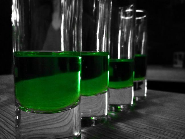 Shot Drink Schnaps Table Close-up Drink Shot Glass Day Freshness