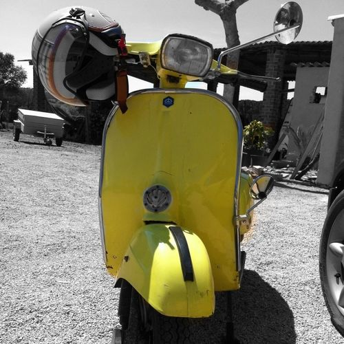 Hanging Out Vespa